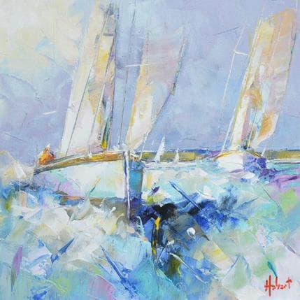 Franck Hébert Près de la côte 25 x 25 cm