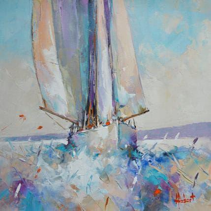 Franck Hébert Par beau temps 36 x 36 cm