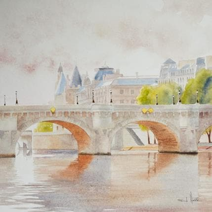 Franck Hérété N° 44 36 x 36 cm