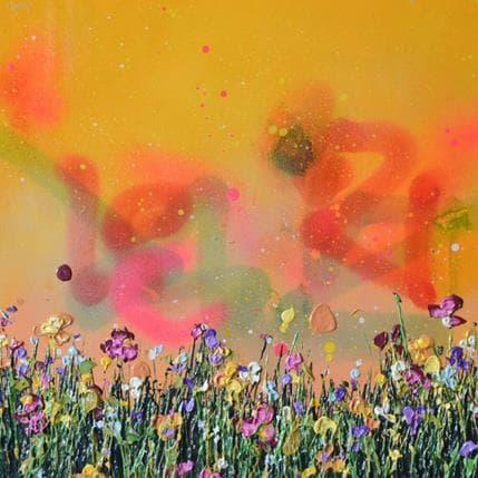 Lee Herring Orange sky 36 x 36 cm