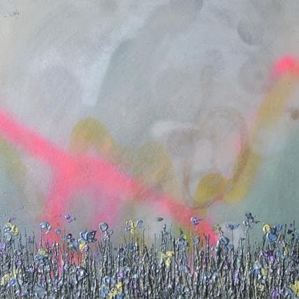 Lee Herring Silver summer 36 x 36 cm