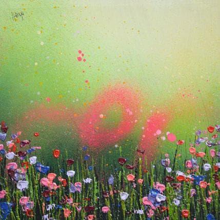 Lee Herring Emerald pink 25 x 25 cm