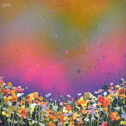 Lee Herring Rainbow night 19 x 19 cm