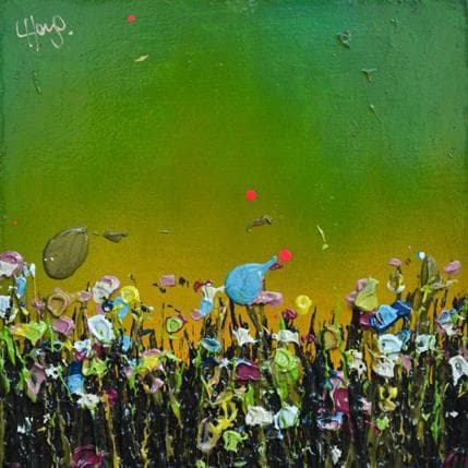 Lee Herring Green sun 13 x 13 cm