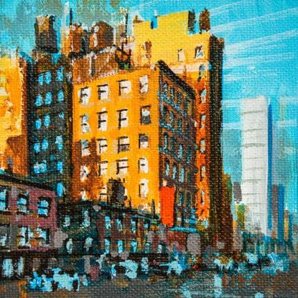 Rudyard Heaton Afternoon in New York city 13 x 13 cm