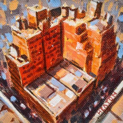 Rudyard Heaton Red block 13 x 13 cm