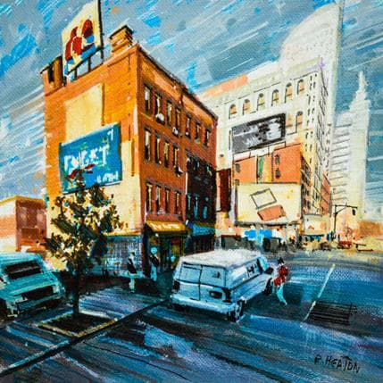 Rudyard Heaton New York street 25 x 25 cm