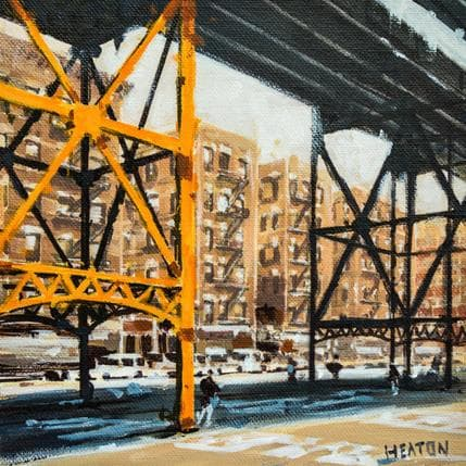 Rudyard Heaton Unoerneath the highrise 25 x 25 cm