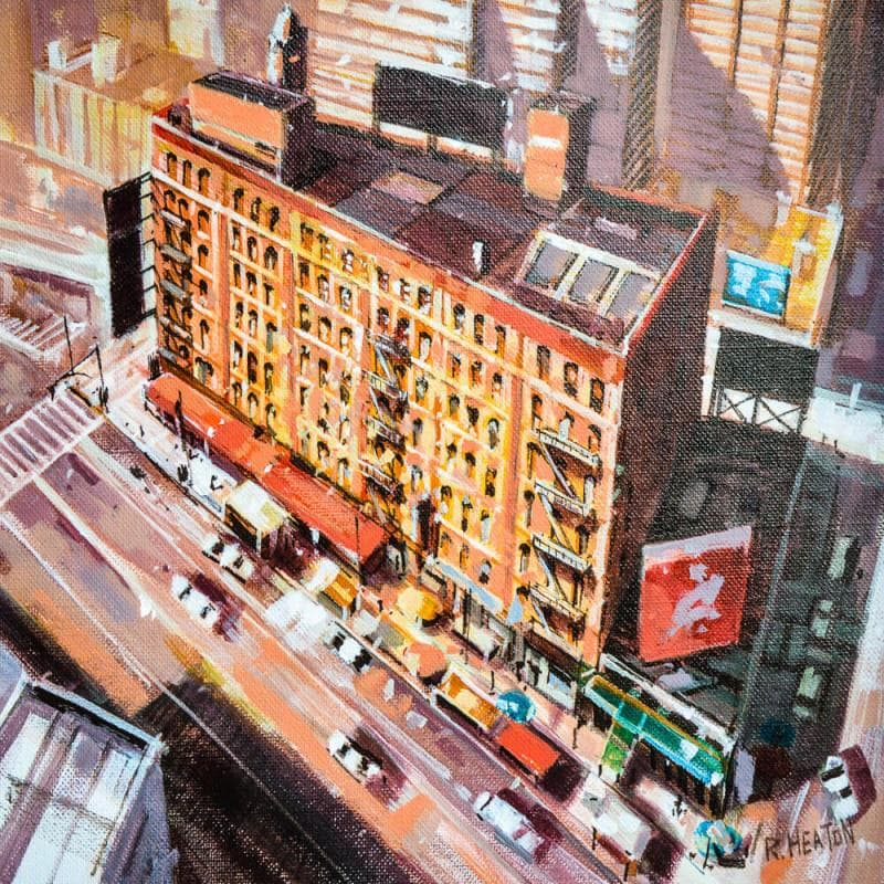 Downview of building in Chinatown New York