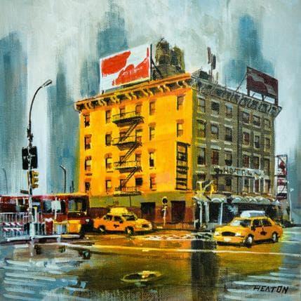 Rudyard Heaton Yellow facade 36 x 36 cm