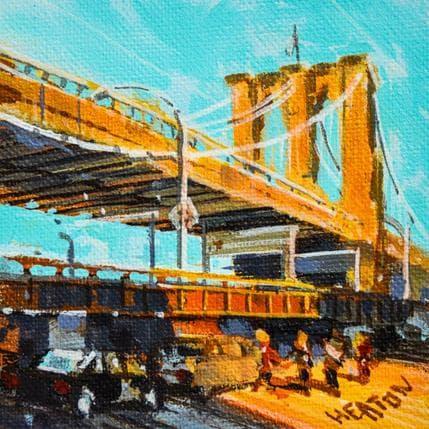 Rudyard Heaton The bridge 13 x 13 cm