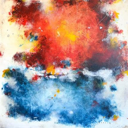 Francisco Jiménez Conesa Colores 80 x 80 cm