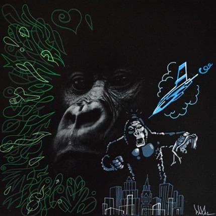 Paxal King Kong 36 x 36 cm