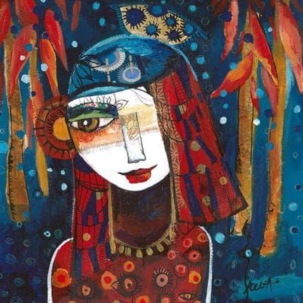 Laure Ketfa Liberté 25 x 25 cm