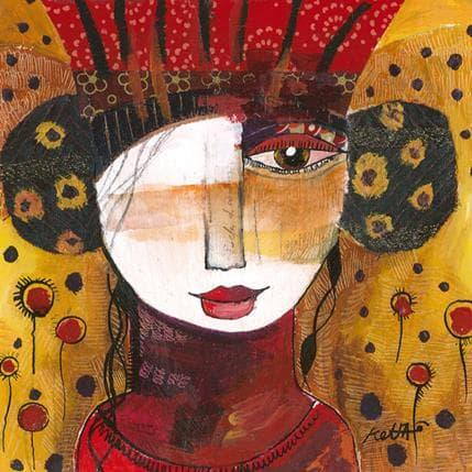 Laure Ketfa Le soleil de la musique 19 x 19 cm