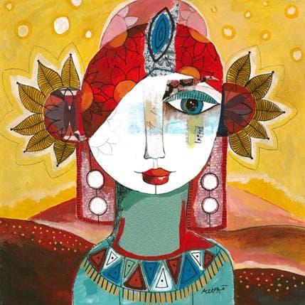 Laure Ketfa Tournesol 36 x 36 cm