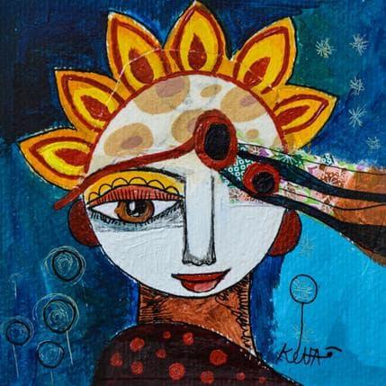 Laure Ketfa Des perles de nacres 13 x 13 cm