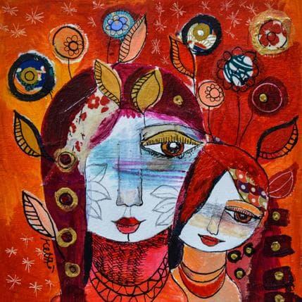 Laure Ketfa La joie de vivre en moi 19 x 19 cm
