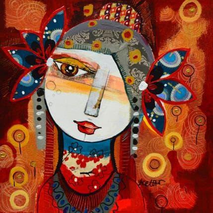 Laure Ketfa L'amour passé 25 x 25 cm
