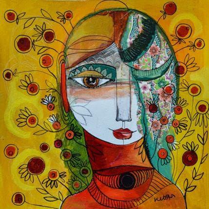 Laure Ketfa Mélancolie 25 x 25 cm