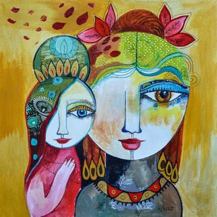 Laure Ketfa Regard doux 36 x 36 cm