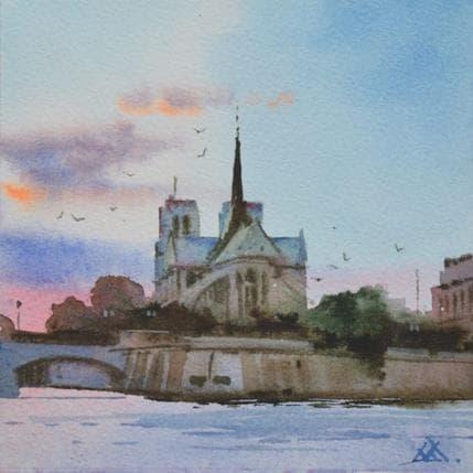 Vasyl Khodakivskyi Paris n8 13 x 13 cm