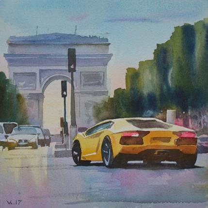 Vasyl Khodakivskyi Paris l14 19 x 19 cm