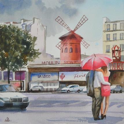 Vasyl Khodakivskyi Paris s18 25 x 25 cm