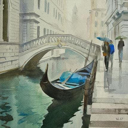 Vasyl Khodakivskyi Venice 8 25 x 25 cm