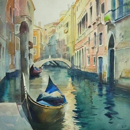 Vasyl Khodakivskyi Venice 36 x 36 cm