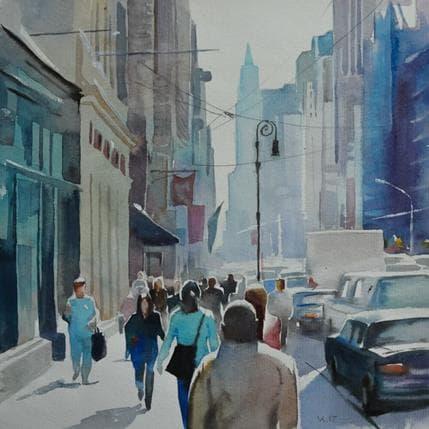 Vasyl Khodakivskyi New York 3 25 x 25 cm
