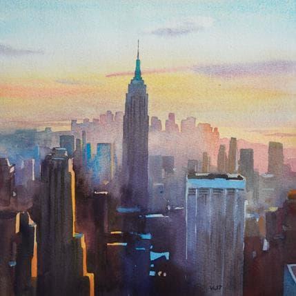 Vasyl Khodakivskyi New York 9 25 x 25 cm