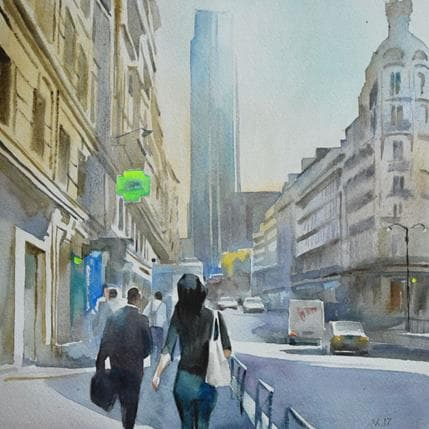 Vasyl Khodakivskyi Paris 16 25 x 25 cm