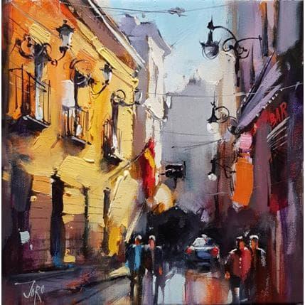 Georgi Kolarov Morning in Madrid 25 x 25 cm