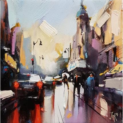 Georgi Kolarov Reflections of the city 25 x 25 cm