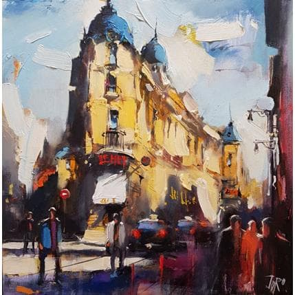 Georgi Kolarov Everyday life in Paris 36 x 36 cm