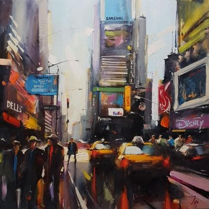 Georgi Kolarov Manhattan's vibes 80 x 80 cm