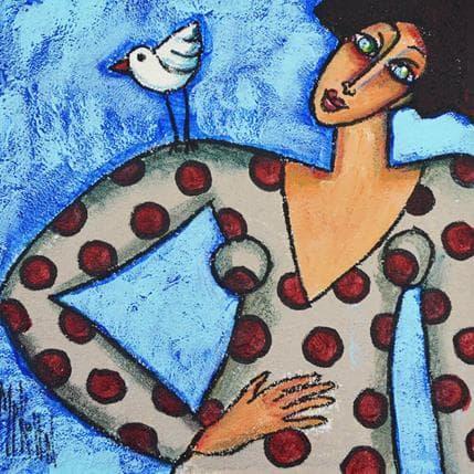 Marie-Pierre Kuhn L'oiseau m'a dit... 19 x 19 cm