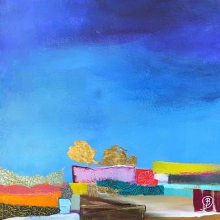 Lau Blou Près du petit moulin rouge 25 x 25 cm