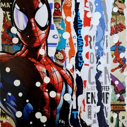 Franck Lamboley Spiderman 19 x 19 cm