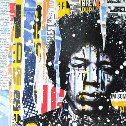Franck Lamboley Hendrix 50 x 50 cm