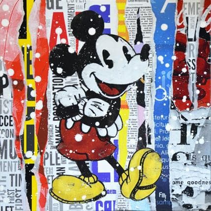 Franck Lamboley The mouse 50 x 50 cm