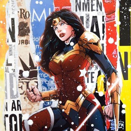 Franck Lamboley Wonder Woman 25 x 25 cm