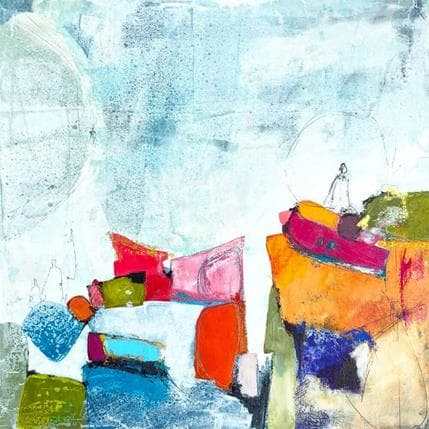 Lau Blou Le rêveur de la colline 36 x 36 cm