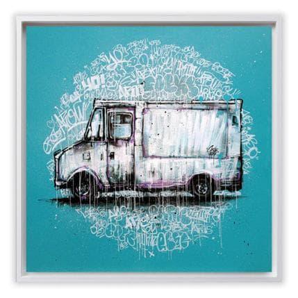 Graffmatt Graffiti truck 100 x 100 cm