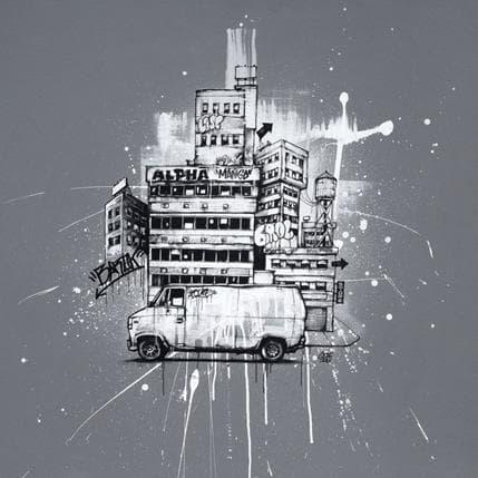 Graffmatt Sabotage 80 x 80 cm