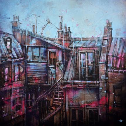 Graffmatt PB Sur les toits 120 x 120 cm