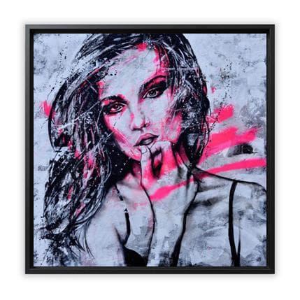 Graffmatt What is your secret 80 x 80 cm