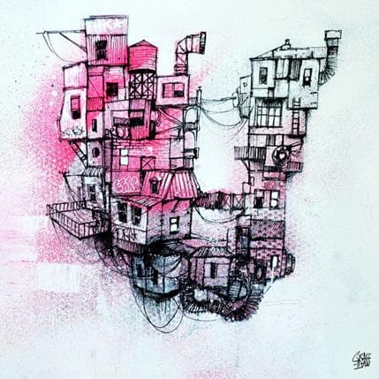 Graffmatt Urban Levitation 36 x 36 cm