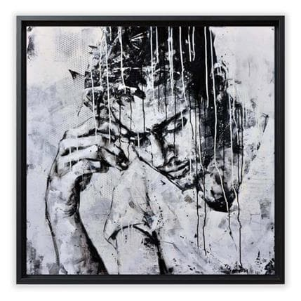 Graffmatt Never forget me 100 x 100 cm